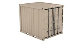 Used 10 Ft Storage Container in Austin